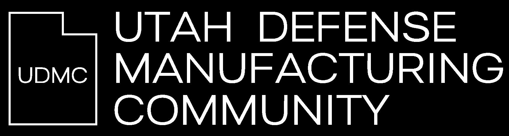 Utah Defense Manufacturing Community
